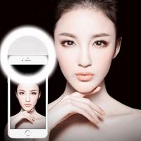 Three Lightness Cheap Price 36 leds selfie ring light for smart phones
