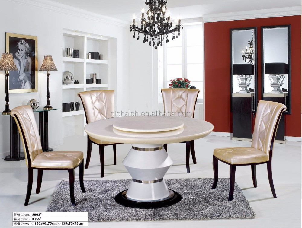 Round Marble Dinning Table, Round Dinning Table Marble