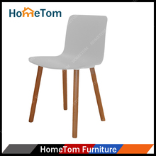 Colorful Plastic Wood Design Dining Chair with Low Price