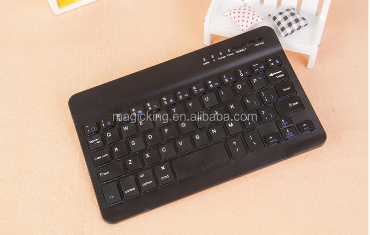 Universal ABS Detachable Bluetooth Keyboard leather case with USB port for 7inch Tablet pc