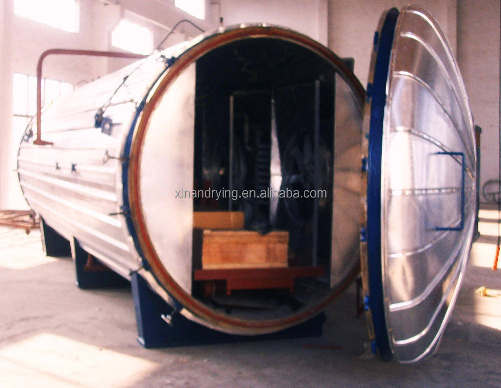 cylinder wood thermal modification equipment timber drying kiln