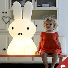 Wholesale Stock Small Order Cartoon Miffy Bedside Lamp Large Decorative Night Light