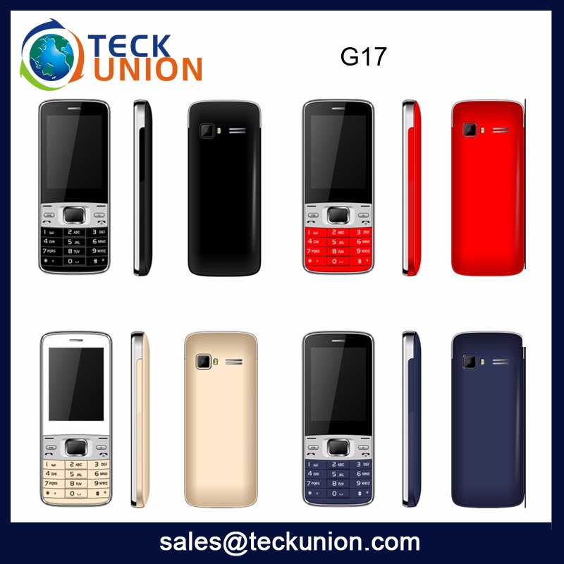 G17 High Quality Fast Delivery Free Sample Oem Acceptable Cheap Simple Mobile Phones Wholesale From China