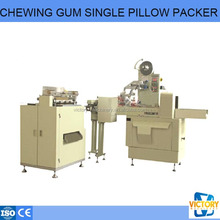 single piece chewing gum pillow packing machine