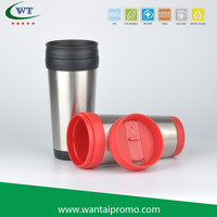 New Design Portable Custom Logo For Car Gift Travel Coffee Mugs Stainless Steel