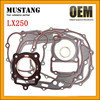High Performance Motorcycle Engine Parts LX 250 Motorcycle Cylinder Full Gasket Set