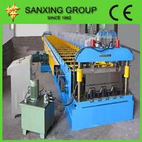 Zinc Plating Deck Floor Roll Forming Machine