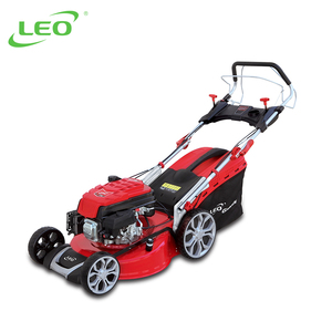 LEO Self-Propelled Gasoline Garden Tool Lawn Mower With Steel Deck