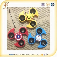 Hot Selling Pokemon Captain Batman Cartoon Characters Wind Hand Spinner