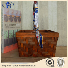 Handmade High Quality Wooden Gift and Flower Baskets