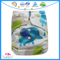 Adjustable Snap Reusable Nappies,Washable Baby Cloth Diapers,Cheap Pocket Cloth Nappy