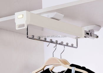High Quality Wardrobe Sliding Clothes display Rack