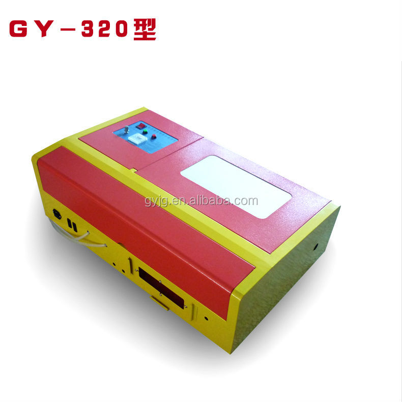 Hot Sale Mini Laser Engraving Machine for Rubber Stamp GY-230