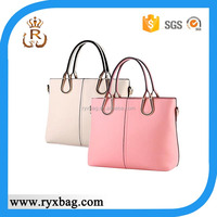 Fashion latest ladies pure PU leather handbags
