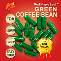 500mg Natural Herbal Slimming Pure Green Coffee Bean Hard Capsule