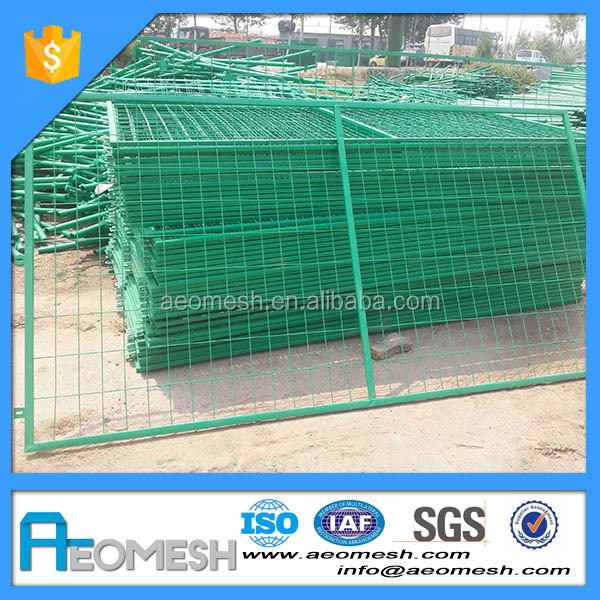 2 Inch Welded Wire Mesh Fence Panels In 6 Gauge
