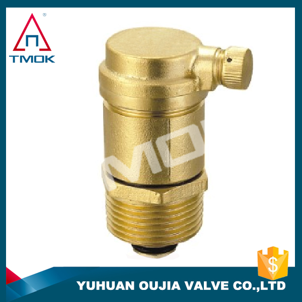 TMOK 1 Inch Brass Air Vent Valve,Automatic Air Release Valve And Thread Material Hpb57-3