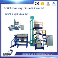 float fish feed extruder machine process line /pet food machine