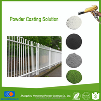 Hot Sale Polyester Resin Based Powder Paint For Outdoor Fence