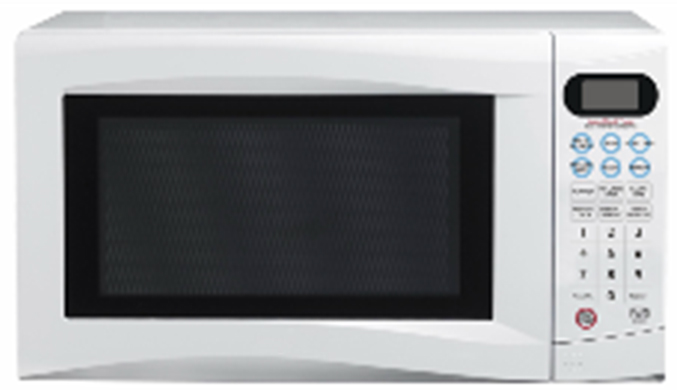 Wholesales Price 20L 700W Compact Desktop Microwave Oven In White