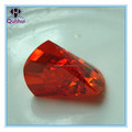 irregular shaped Garnet CZ Gmestone