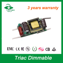 smd pcb open frame triac dimming led driver 4-7x1w 8-12x1w for led bulb assembly