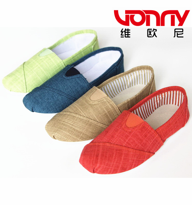 2017 loafer manufacturers lady loafer shoes Loafers Lazy Platform canvas Shoes