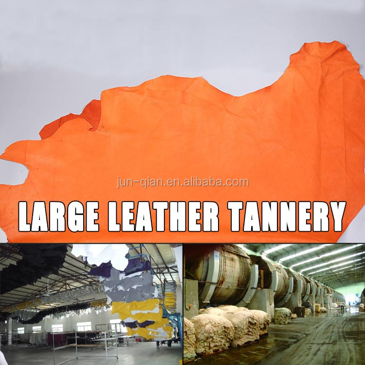 factory production pigskin lining leather from leon mexico pig grain leather