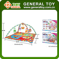 Customized Soft Plush Exercise Mat Baby Crawl Play Mat