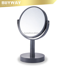 romantic double sided salon stand magnifying plastic makeup cosmetic mirror