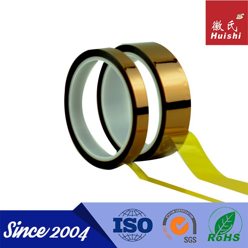 5kv Silicone Adhesive Coated Amber PI Tape With ISO9001&14001 Certifications