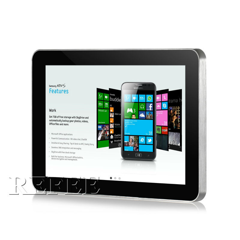 Poe Wall Mount Tablet Android Kiosk 10 Inch 10 Inch