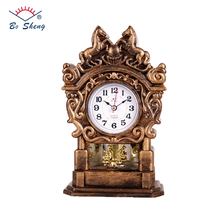 2017 Antique Home Decor Table Clock For Grandfather Gift Living Room Furnishings 12 Melody and Moving Twist Clock(F009)