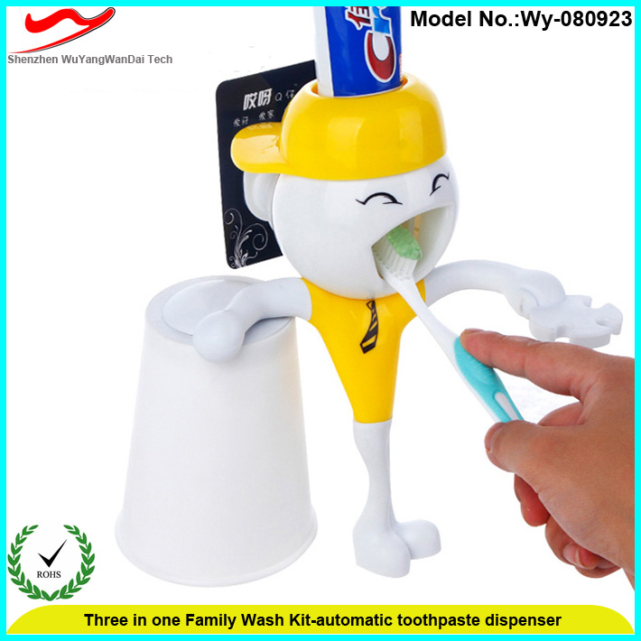 Kids Auto toothpaste dispenser as novelty funny gift items for doctors