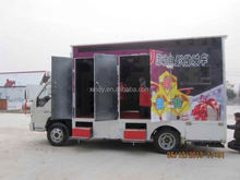 Hydraulic&electric system 6 or 9 seats truck mobile 5d cinema theater