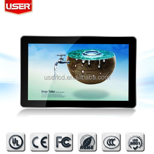 Top quality promotional magic mirror advertising lcd player