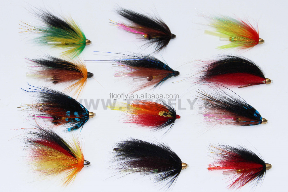 Assorted Popular Cone Heads Tube Flies Cone Heads Salmon Fly Trout Fly Fishing Lures