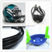 waterproof and durable pvc chin strap for American football helmet
