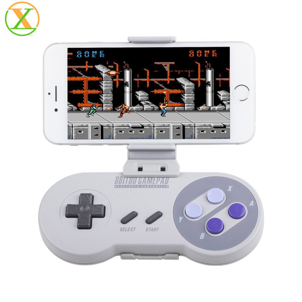Xlintek 8bitdo Gamepad for SFC30/SNES30 Controller for iOS, Android, Windows