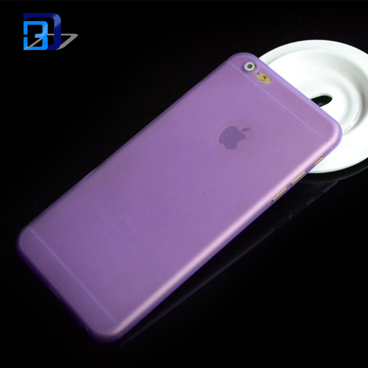 new products 0.3mm Ultra Thin PP Phone Case for iPhone 6, for iphone 6 pp case china suppliers