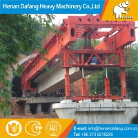 Stable quality Concrete T Beam 32m Bridge Launcher for Tunnel,450t T Beam 32m Bridge Launcher with Hydraulic System
