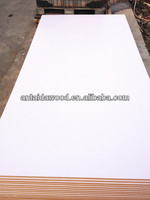 18mm white melamine coated mdf board from Linyi