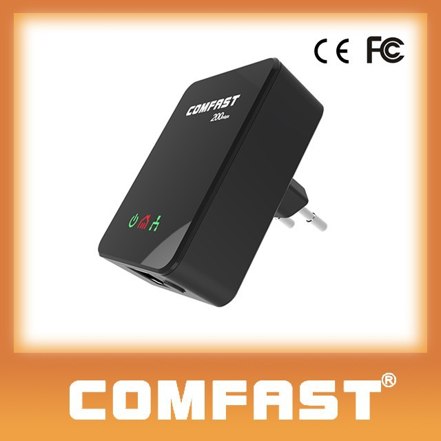 Best Price COMFAST CF-WP200M 200m Networking Home Plug Powerline Ethernet Adapter PLC