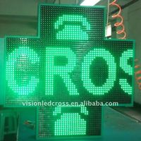 Green Pharmacy Sign Board for Sale 110cm with CE