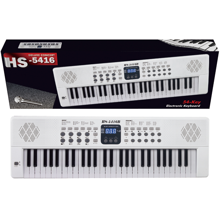 54 keys Synthesizer Musical Led Display Piano Electric Keyboard Organ