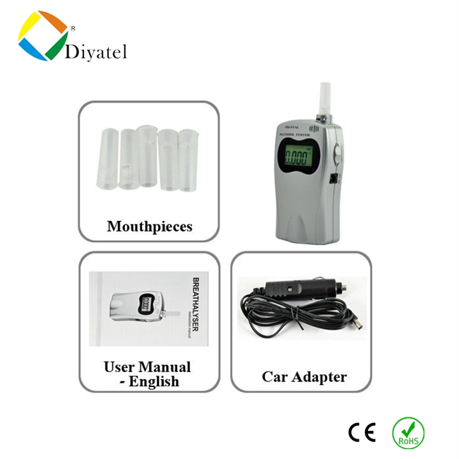 alcohol tester alcohol distillation equipment china mouthpiece alcohol tester