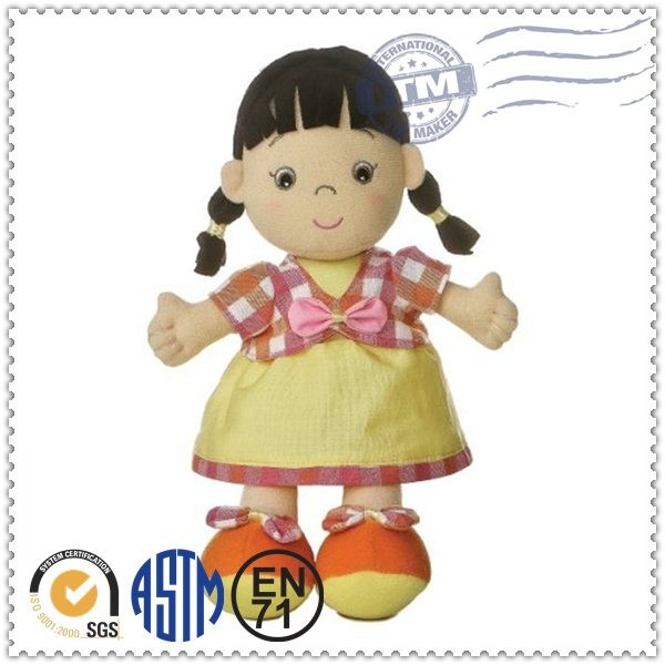 Promotion high quality fashion top selling lovely decorative dolls