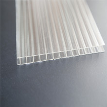 Flat Multi wall polycarbonate 4mm 6mm 8mm pc plastic roofing sheet