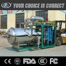 Automatic water spray type horizontal retort machine