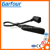 Favorable price good quality 3pin ac power plug socket adapter